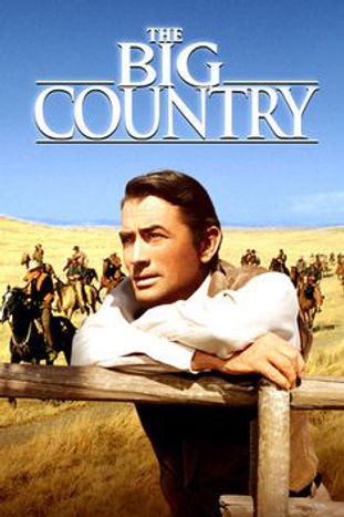 The Big Country publicity poster