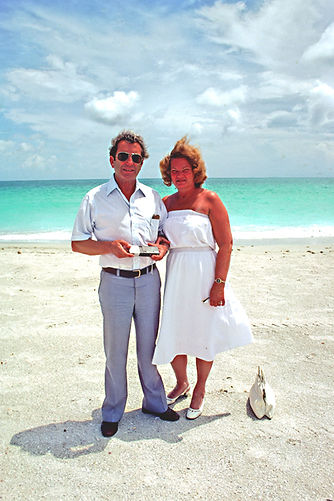 Mum and Dad on Miami Beach