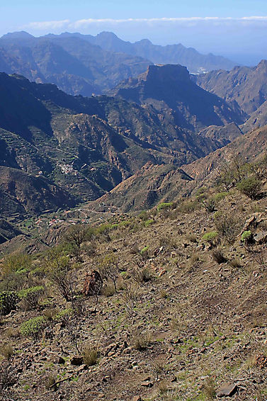 Mountains in the Canary Islands