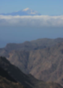 Gran Canaria and Mt Teide on Tenerife