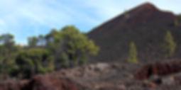 El Chinyero volcano on Tenerife
