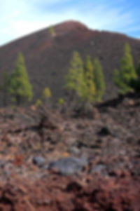 El Chinyero in Mount Teide National Park Tenerife