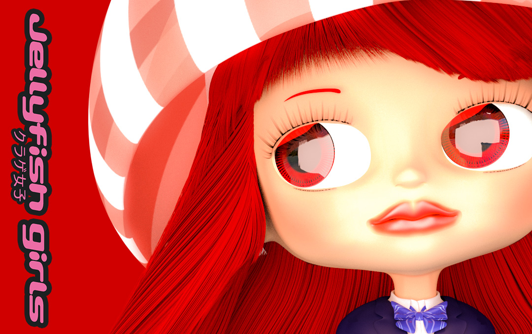 オリジナルキャラクター クラゲ女子