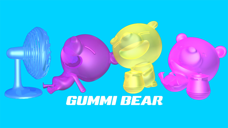 オリジナルキャラクター GUMMI BEAR
