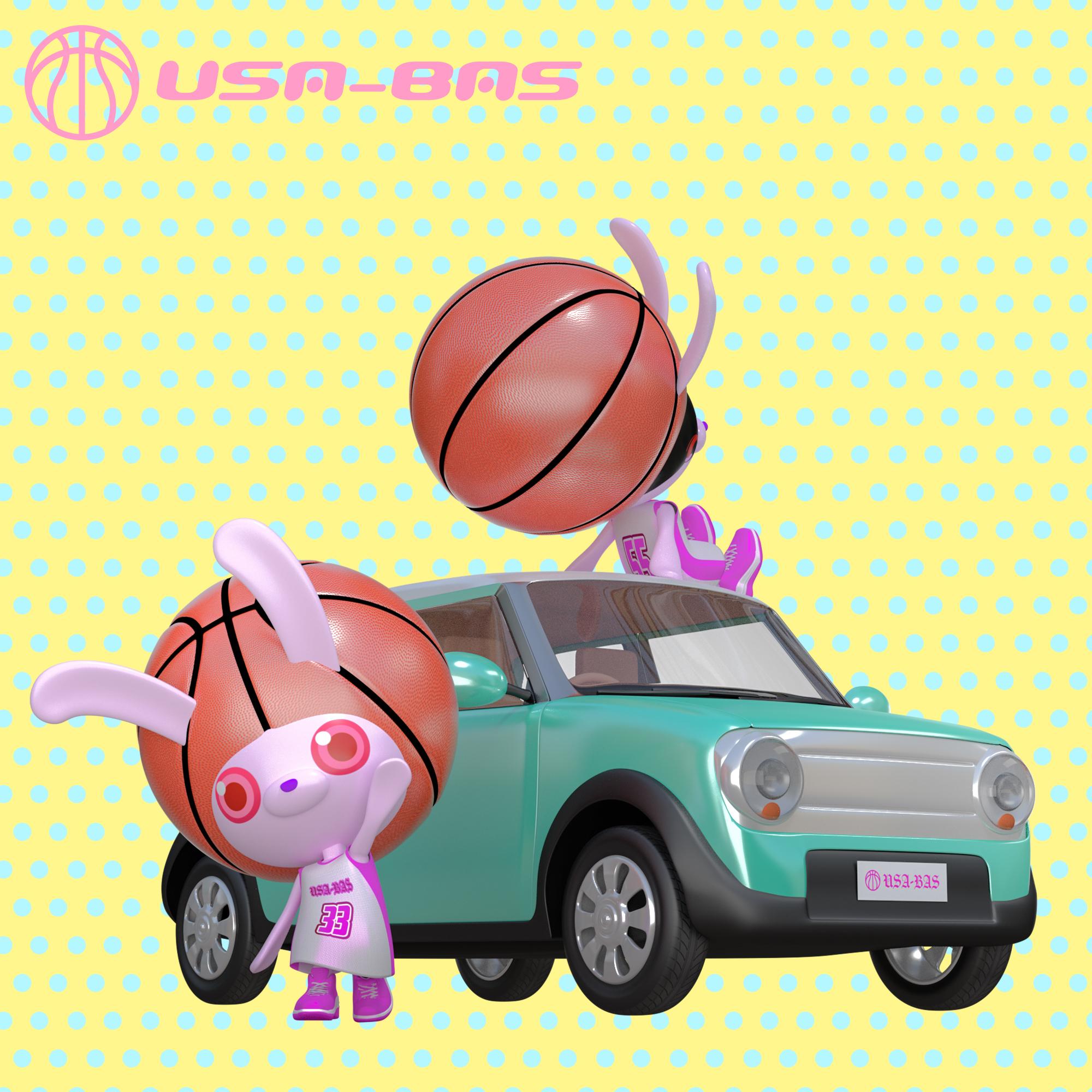 オリジナルキャラクター USA-BAS