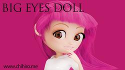 オリジナルキャラクター BIG EYES DOLL Pink