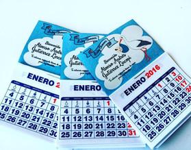 Iman Calendario 7x9cm