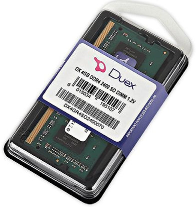 DX DDR4 4GB 2400MHZ  SO DIMM