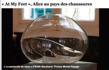 La pantoufle de verre