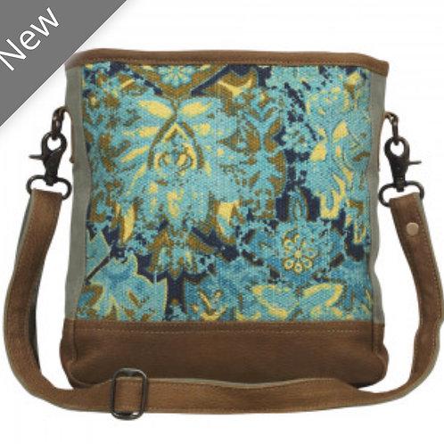 Aqua Trail Bag (lightweight canvas & leather)