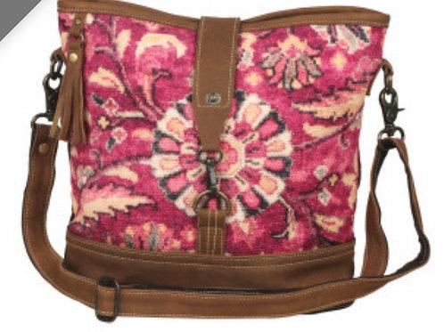 Exuberance shoulder bag (lightweight canvas & leather)