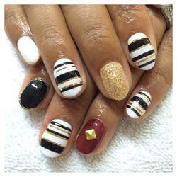 Glitter and Stripes