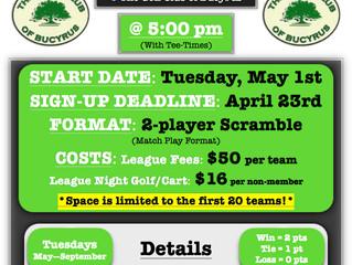 Tuesday 2-Man Scramble League!