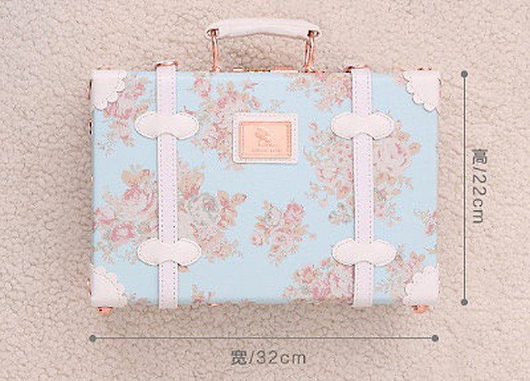 Hand Bag Blue Love (UN05)
