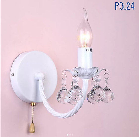 Singel Pink Wall Lamp (PO24)