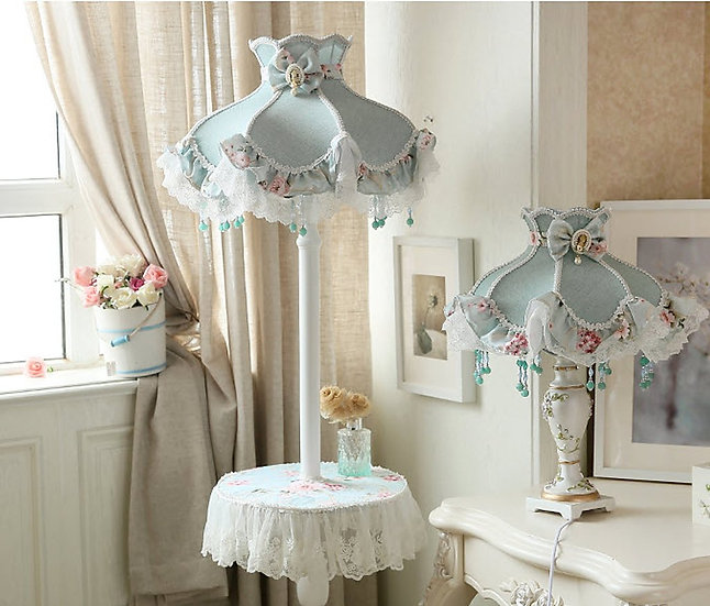 Standing Lamp Marry Blue (PO305)