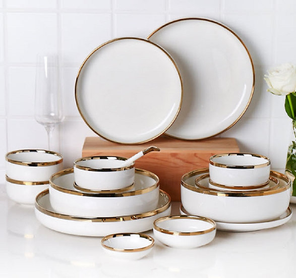White Marble Tableware (PL06)