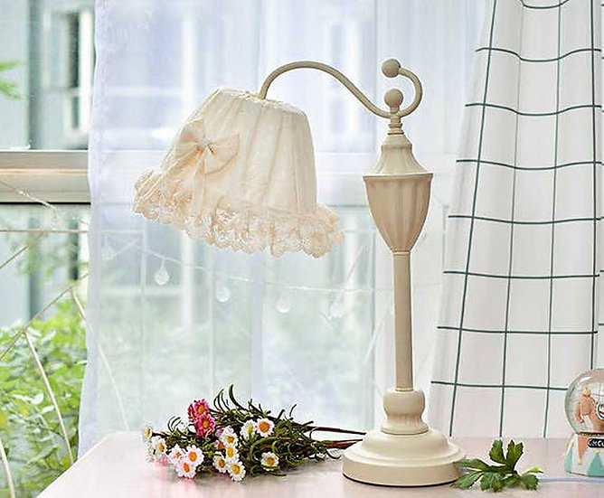 Dyna White Table Lamp (PO89)