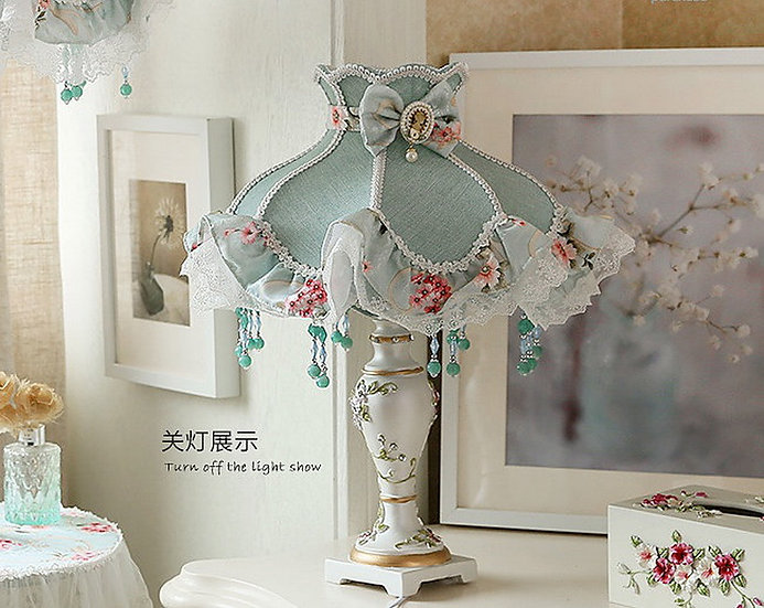 Blue Marry Table Lamp