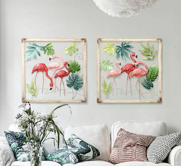 Flamingo Wall Decor (PT78)