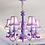 Thumbnail: Nairi Purple Shabby Chic Chandelier (PO 421)