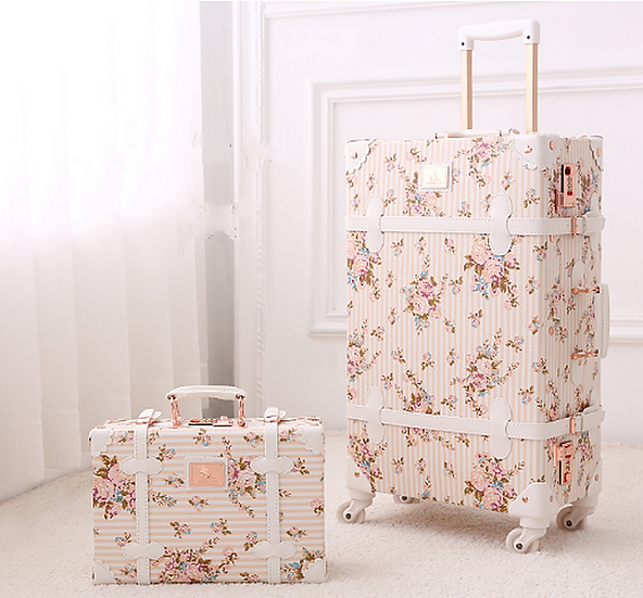 Luggage Flowery Pink (UN02)