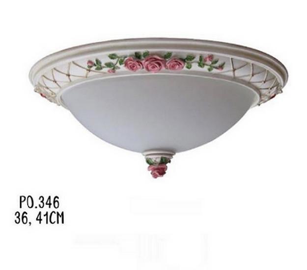 Vintage Rose Ceilling Lamp (PO346)