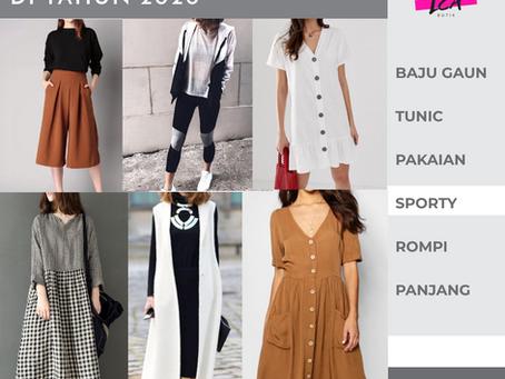 Fashion Yang Bakal Trend Di Tahun 2020