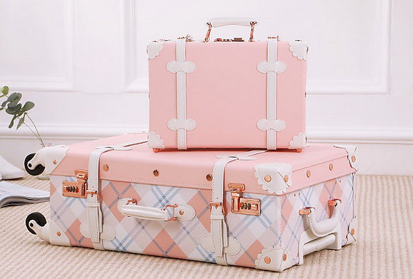Pink Coral Luggage (UN12)