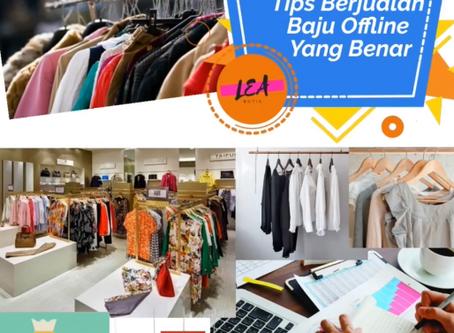 Tips Berjualan Baju Offline Yang Benar