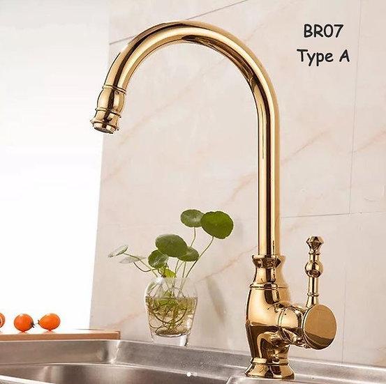 Zehra Gold Faucet (BR07)