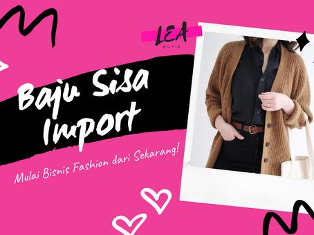 Baju Sisa Import LEA Butik