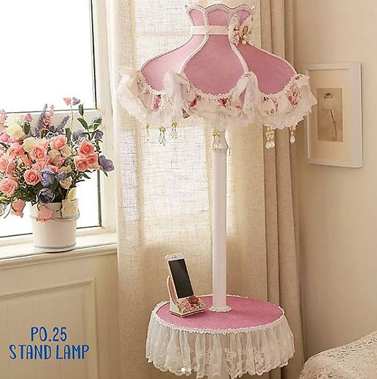Standing Lamp Marry Pink (PO025)
