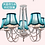 Thumbnail: Strip Bulb Chandelier (PO46)