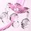 Thumbnail: Singel Pink Wall Lamp (PO24)
