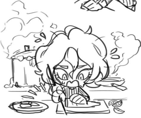 Lamia Cooking Stress
