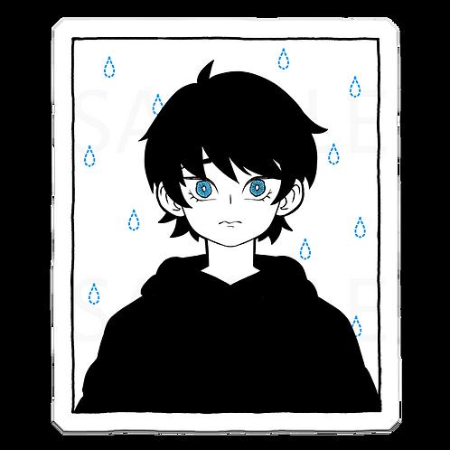 Rainy Day Vinyl Sticker