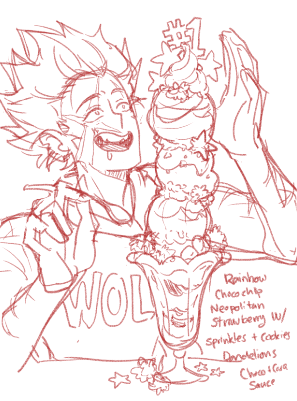 Wolf Ice-Cream
