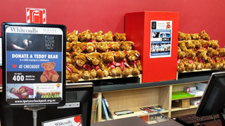 Donate a Teddy Bear @ Whitcoulls Albany