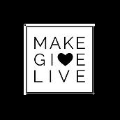 Make Give Live logo