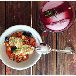Instagram - looks good, tastes grEATer! breakfast by dreamcatcher chef @chefjero