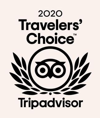 Winner: 2020 Travelers' Choice Award