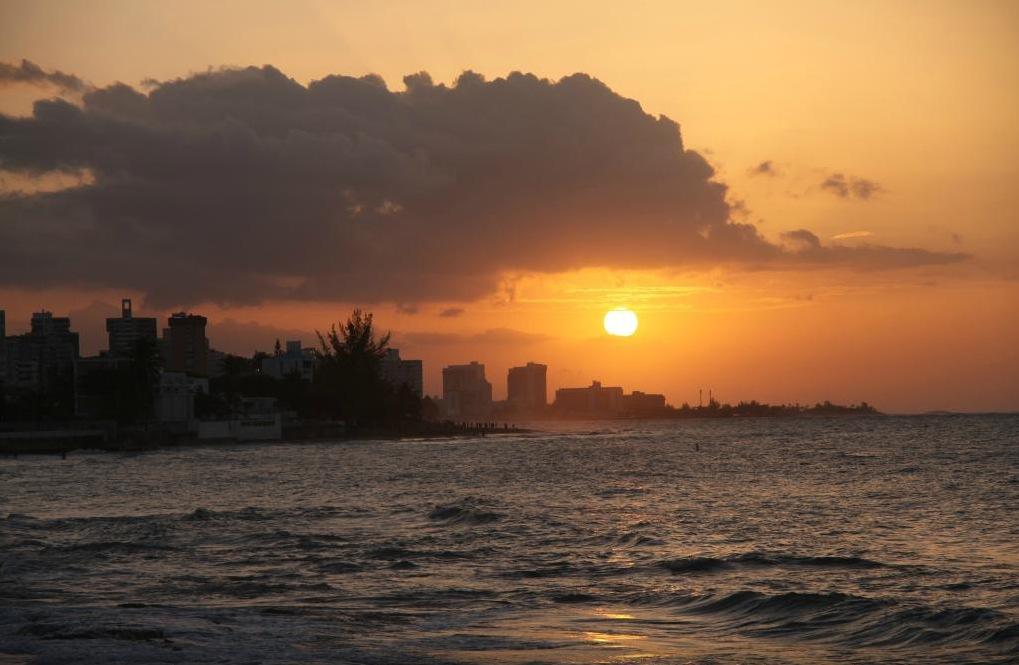 Ocean Park Sunset