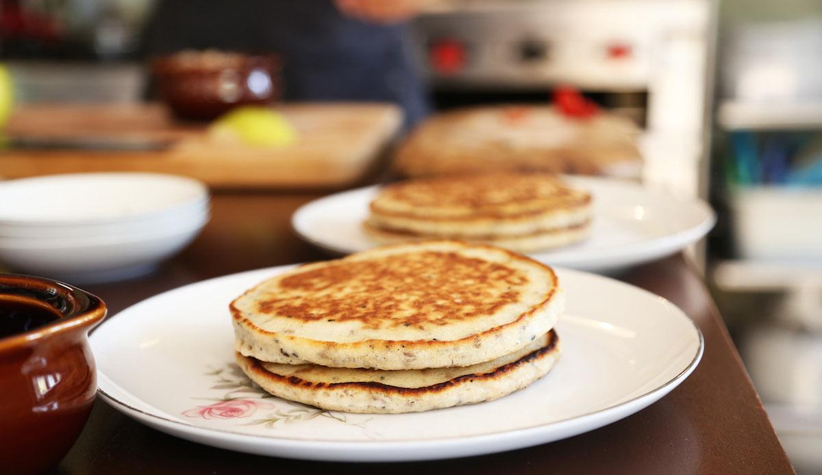 Organic Pancakes with Chia