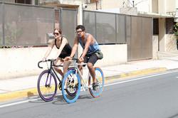 Biking on Mc Leary