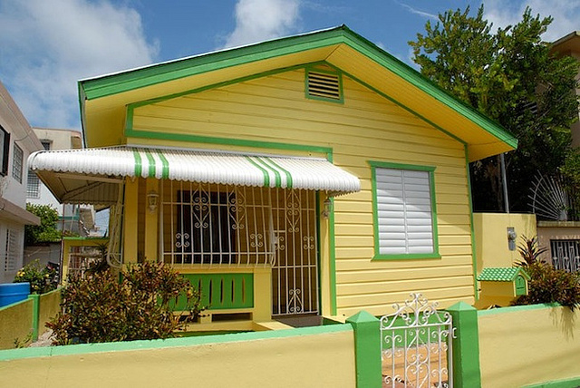 Typical Puerto Rican Home