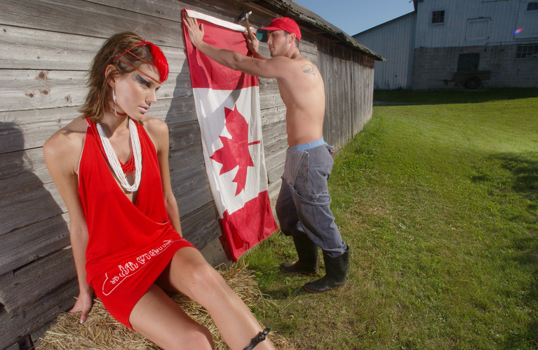CANADA DAY FASHION SECTION FRONT / THE TORONTO STAR