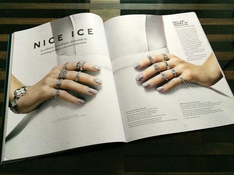 NICE ICE / 1898 BIRKS MAGAZINE