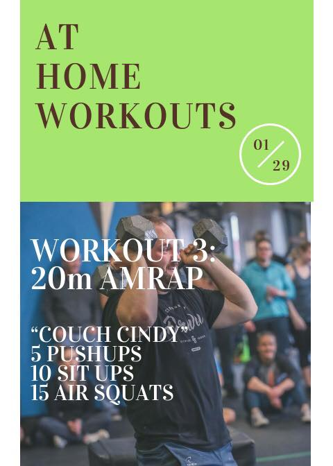 At Home WOD 3