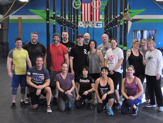 Tuesday October 23, 2018 - Upside down Cardio